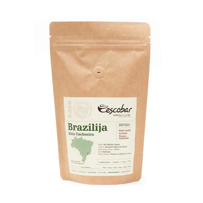 Specialty kava s poreklom Brazilija SITIO Cachoeira