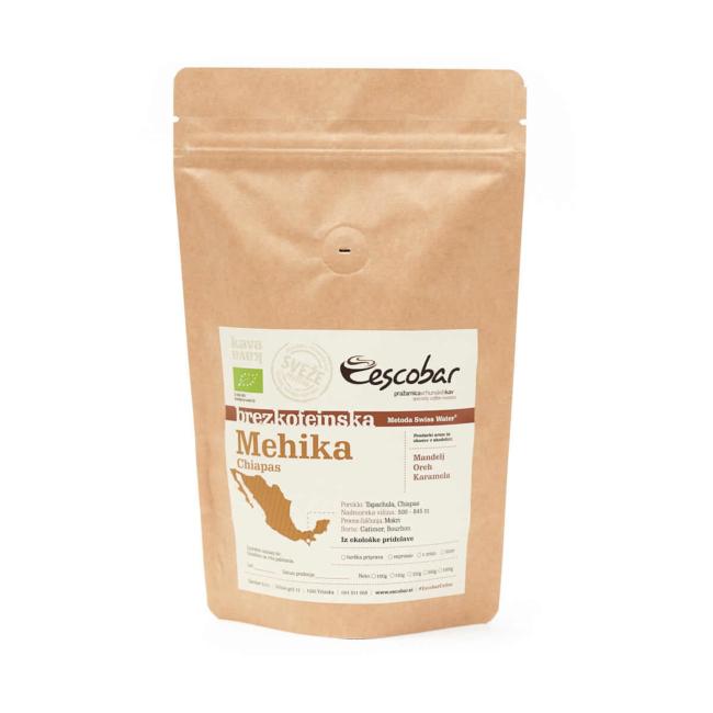 Brezkofeinska kava s poreklom Mehika Chiapas