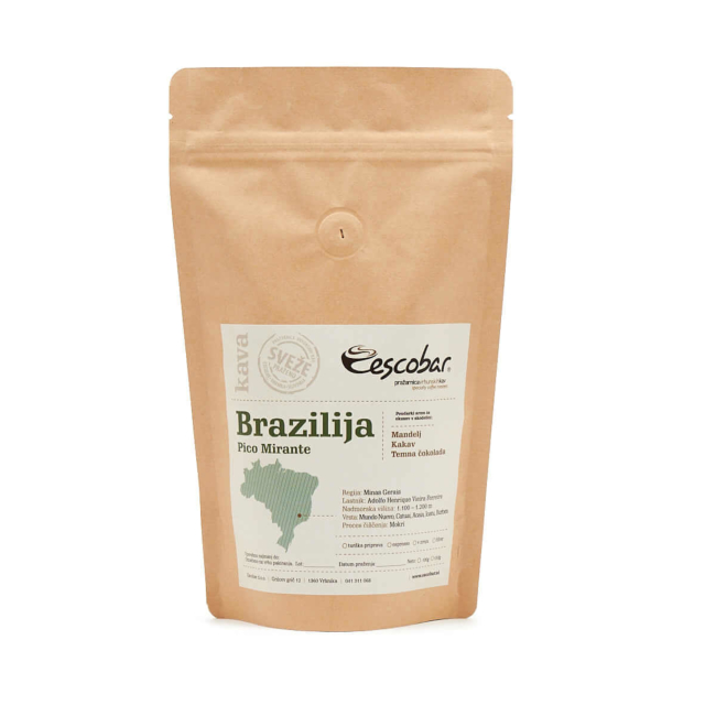 Kava s poreklom Brazilija PICO MIRANTE
