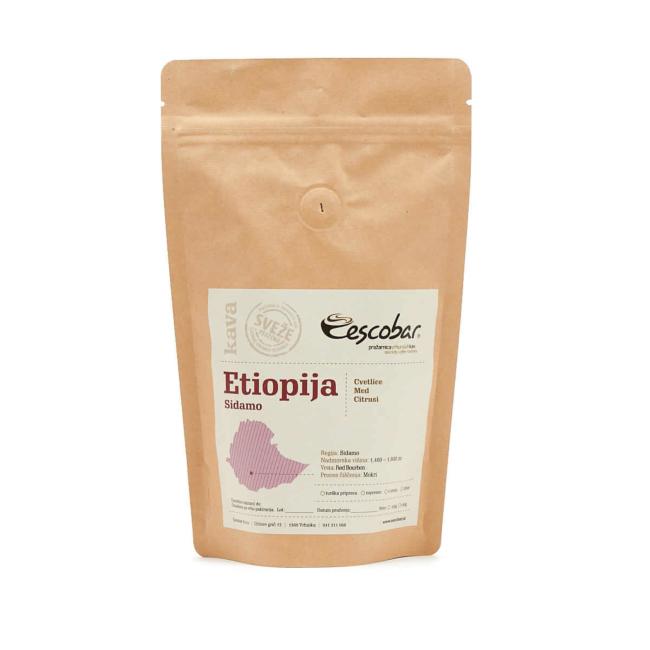 Kava s poreklom Etiopija SIDAMO