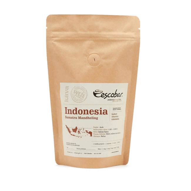 Kava s poreklom Indonezija SUMATRA