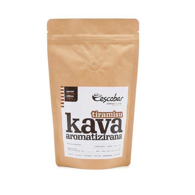 Aromatizirana kava TIRAMISU