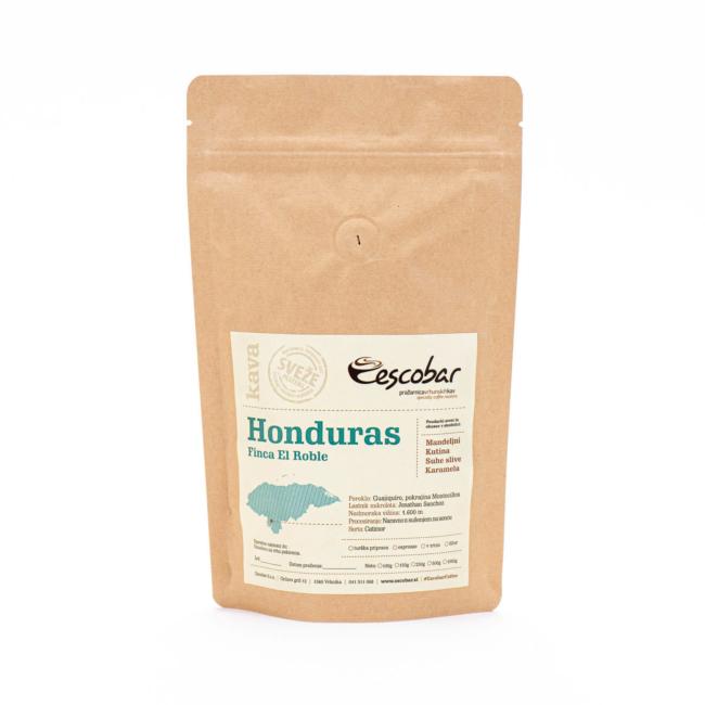 Specialty kava s poreklom Honduras Finca El Roble