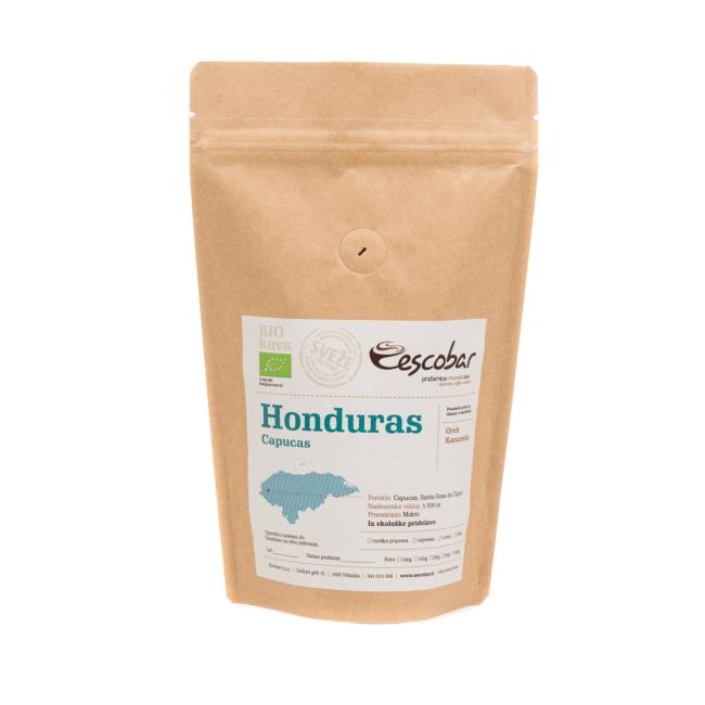 Kava s poreklom Honduras Capucas
