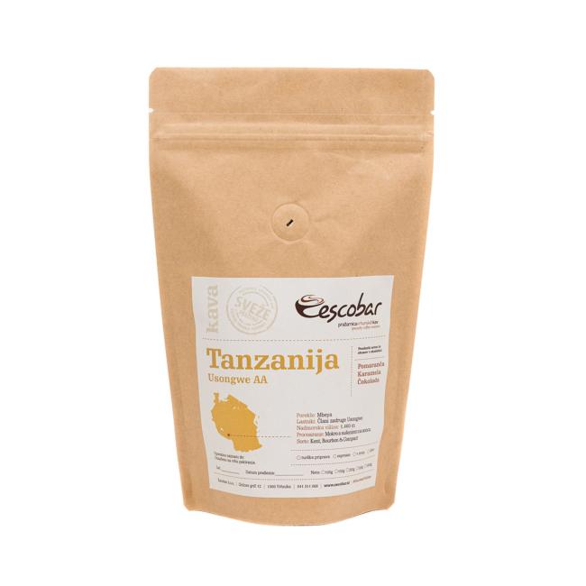 Specialty kava s poreklom Tanzanija Usongwe AA