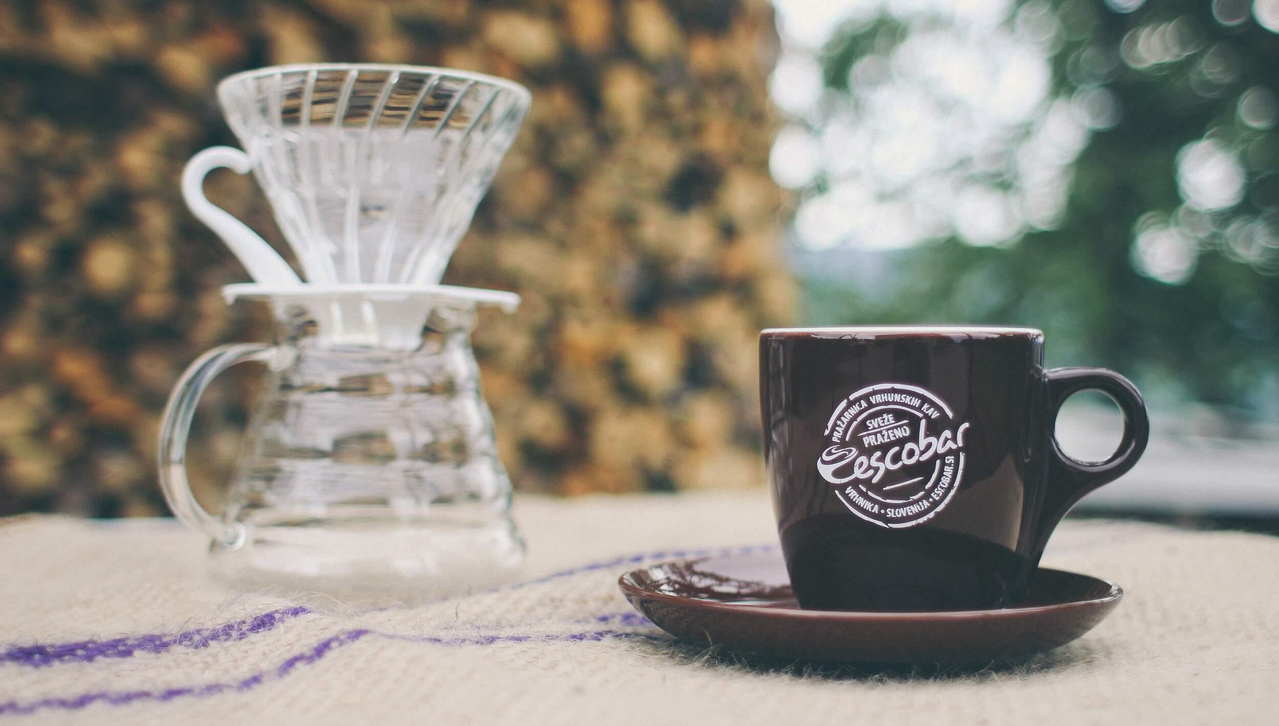 Drip kava s Hario V60